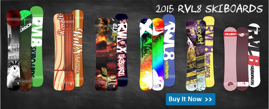 2014 RVL*8 Skiboards Line Up