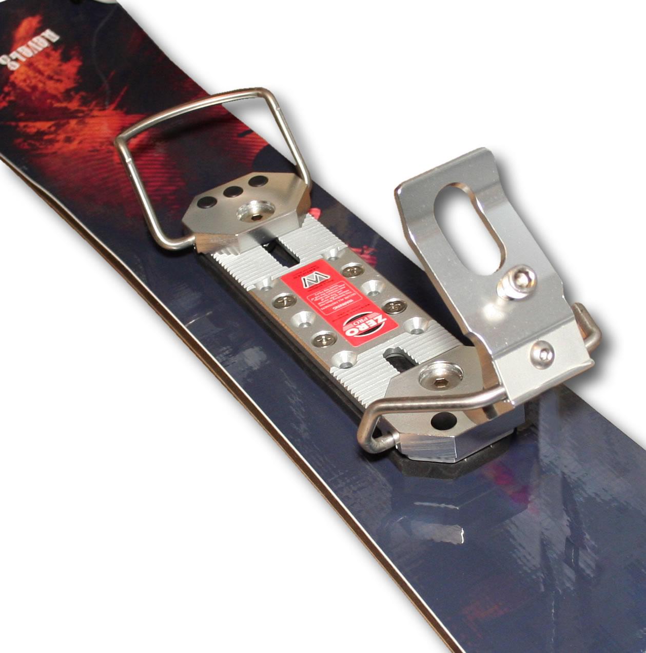 Skiboardsonline Com Zero Pro Silver Non Release Skiboard
